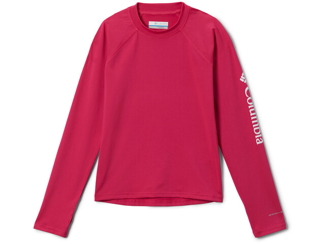 Columbia Sandy Shores T-shirt Manches longues Sunguard Enfant, cactus pink/white